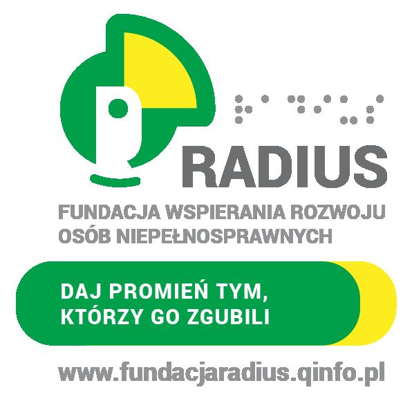 Logo Fundacji Radius